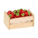 Cagette de fraises (Rouge)