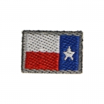 Reverse Texas Flag Patch (Blue)