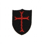 NSWDG Devgru Crusader Shield Patch (Black)