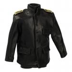 Leather U-Boat Kriegsmarine Jacket (Black)