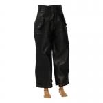 Leather U-Boat Kriegsmarine Pants (Black)