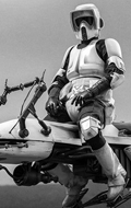 Star Wars : The Mandalorian - Scout Trooper & Speeder Bike