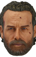 Headsculpt Andrew Lincoln Battle Damaged