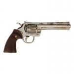 Pistolet Colt Python 357 aspect usé (Argent)