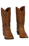 Worn Cowboy Boots (Brown)