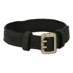 Worn Basketweave Equipment Belt (Black)