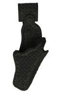 Holster Basketweave aspect usé (Noir)