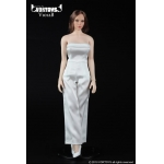 Female Conjoined Skirt Set (White)
