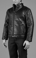 Spy Killer Leather Jacket Set (Black)