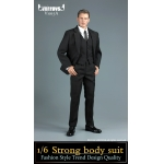 Set costume Strong Body (Noir)