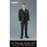 Set costume Strong Body (Gris)