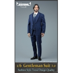 Set Gentleman Suit 3.0 (Bleu)