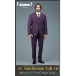Set Gentleman Suit 3.0 (Violet)