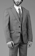 Gentleman Suit 3.0 Set (Grey)