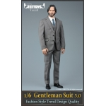 Set Gentleman Suit 3.0 (Gris)