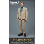 Set Agent Killer Suit (Beige)