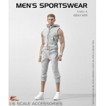 Set vêtements de sport (Gris)