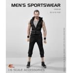 Set vêtements de sport (Noir)