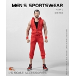 Set vêtements de sport (Rouge)