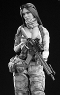 A-TACS FG Double Women Soldier - Jenner (Style A)