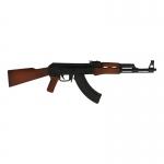 Fusil d'assaut AK 47 (Noir)