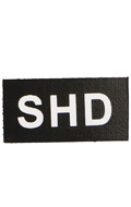 SHD Patch (Black)