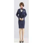 Female Sexy Stewardess Set (Blue)