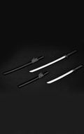 Samurai Swords (Black)