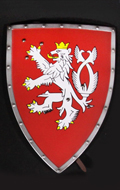 Knight Shield (Red)
