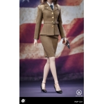 Set WWII US Army Agent Uniform Femme