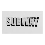 Figurines Subway