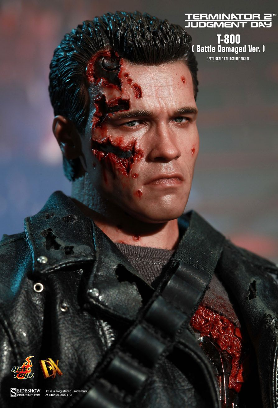 Terminator loose action figure-battle damage TERMINATOR Arnold SCHWARZENEGGER