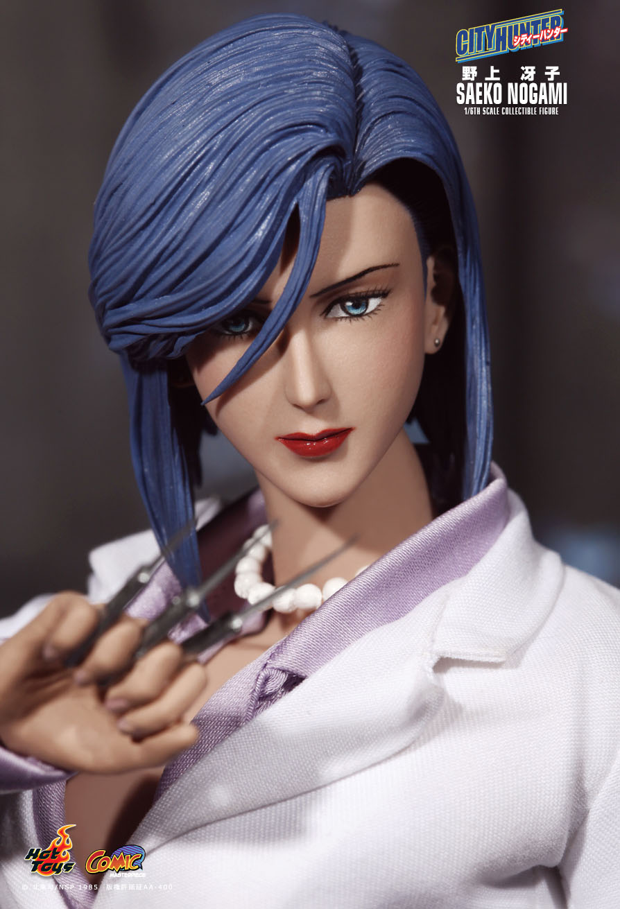 "1:6 City Hunter /""Saeko Nogami/"" Mini-Knives x 6 HOT TOYS"