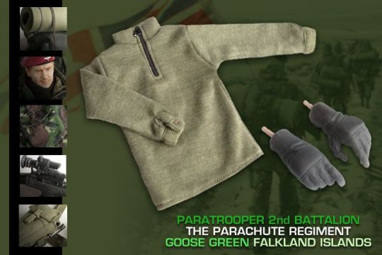 Figurine 1/6 Falkland Islands 2nd Battalion The Parachute