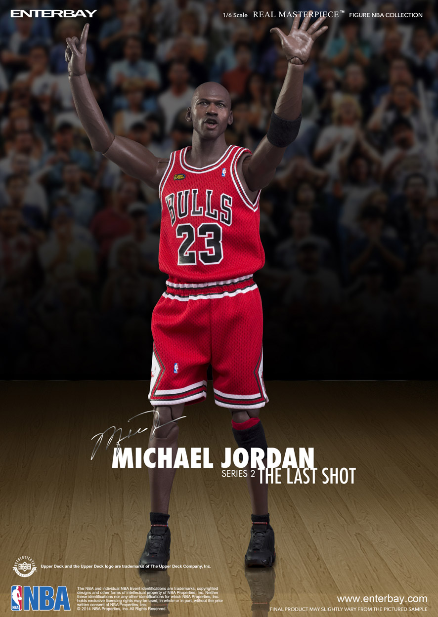 3a58f0abad1342 NBA Collection - Michael Jordan Series 2 (The Last Shot Edition)