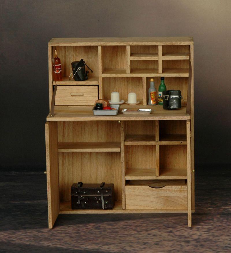 bureau secr taire en bois machinegun. Black Bedroom Furniture Sets. Home Design Ideas