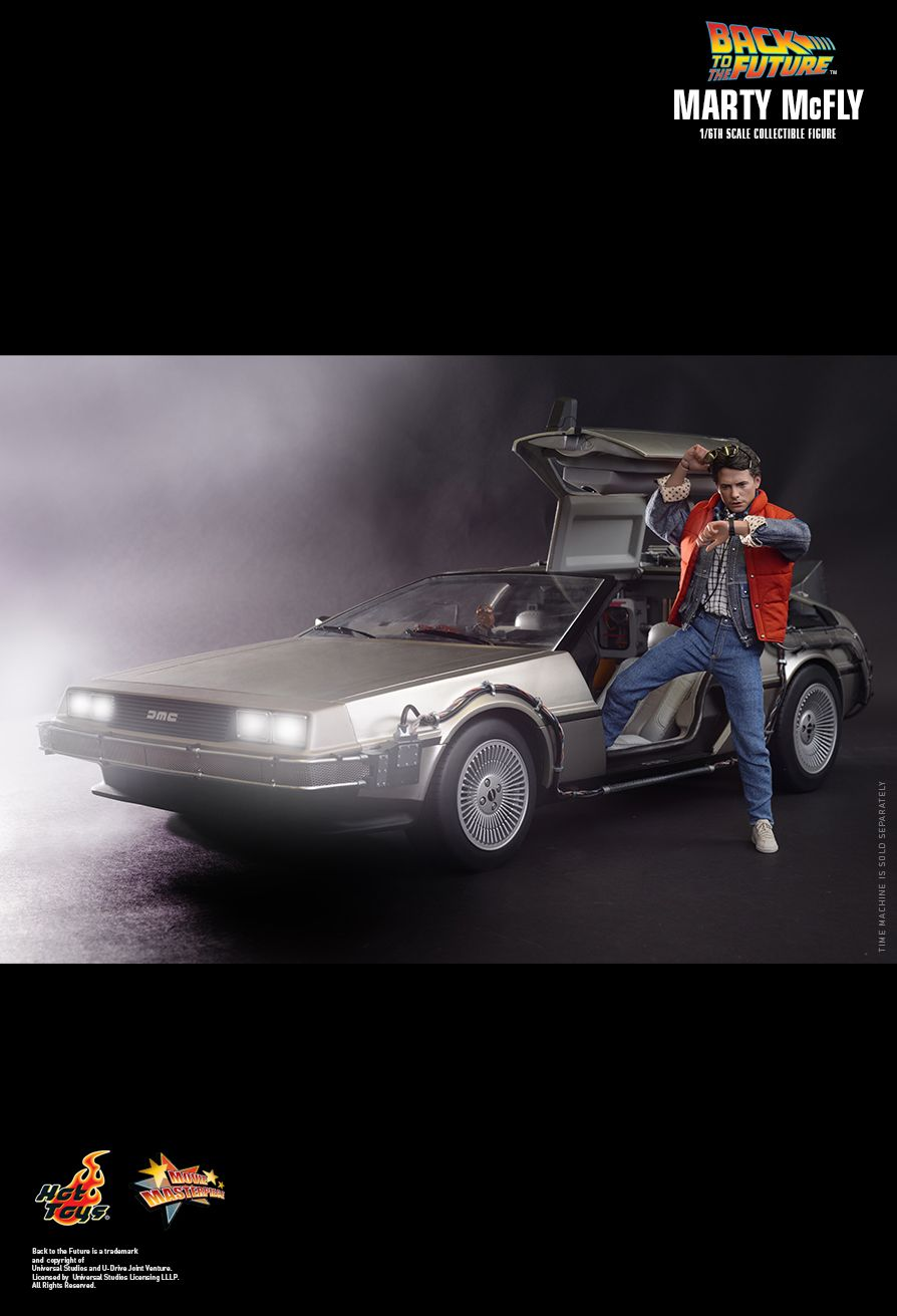 Back To The Future - Marty McFly Hot Toys
