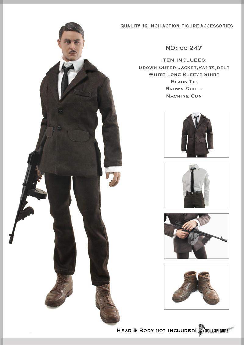 e3d12feaf7c1 Set vêtements années 20 - Machinegun
