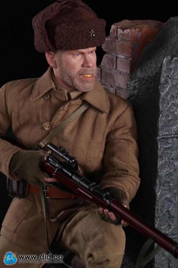 DID guerre mondiale deux Sniper Allemand Major Konig 2 Fusil Munitions Sachets 1//6 Toys 3R soldat Joe