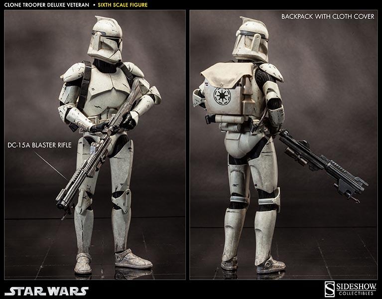 Star Wars Clone Trooper Veteran Deluxe