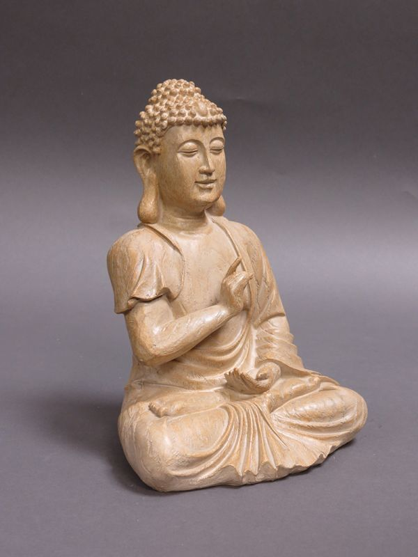 statue de bouddha type e machinegun. Black Bedroom Furniture Sets. Home Design Ideas