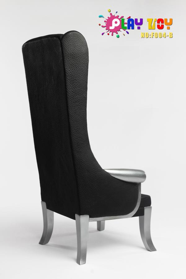 chaise haute noir machinegun. Black Bedroom Furniture Sets. Home Design Ideas