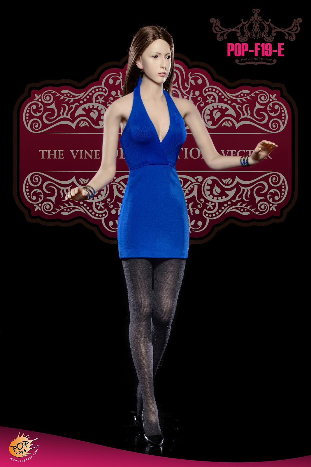 set de v tements mini jupe sexy femme bleu machinegun. Black Bedroom Furniture Sets. Home Design Ideas