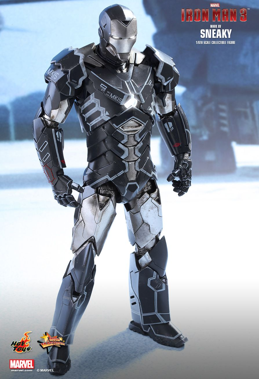 Iron Man 3 - Mark XV Sneaky Hot Toys