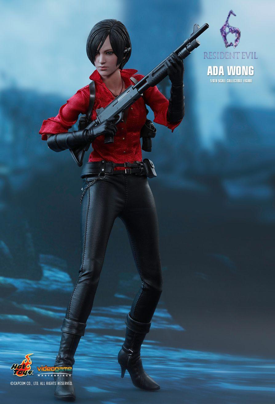 Figurine 1/6 Resident Evil 6 - Ada Wong - Machinegun.fr