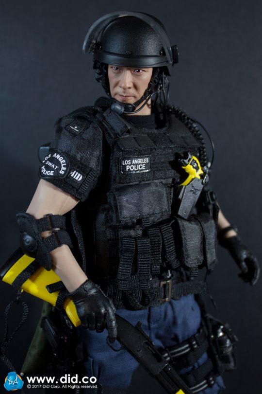 DID LAPD Special Weapons and Tactics 3.0 Yamada Lunettes de sécurité 1//6 Jouets POLICE SOLDAT Joe Lunettes Dam