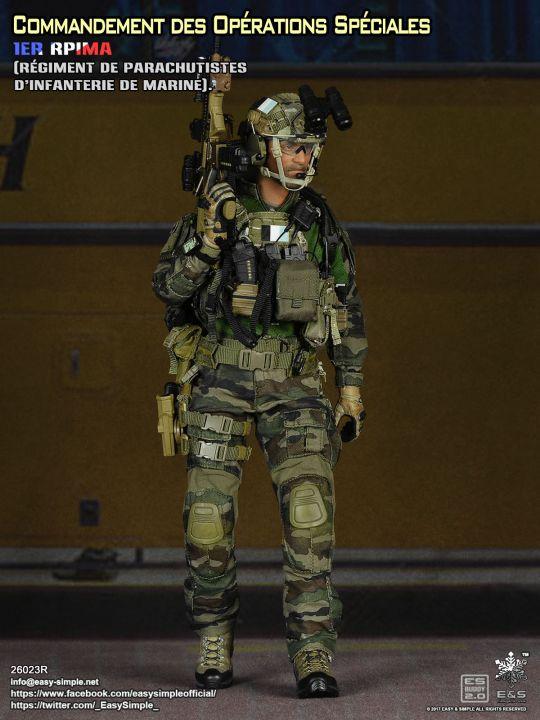 Commandement 1er Figurine Des Spéciales 16 Opérations Rpima ACCwznxHqW
