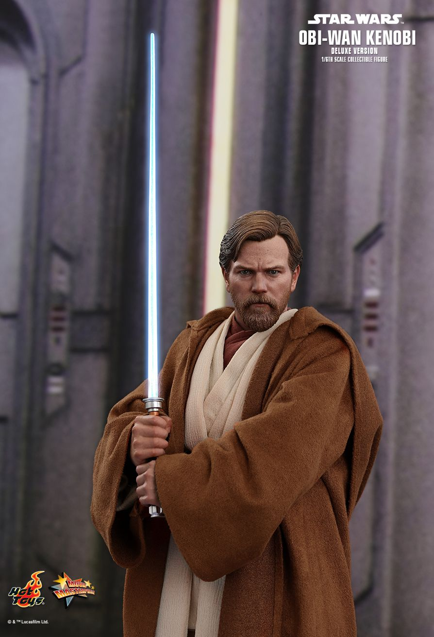 Hologram of Anakin Skywalker Hot Toys MMS478 1//6 Star Wars Obi-Wan Kenobi