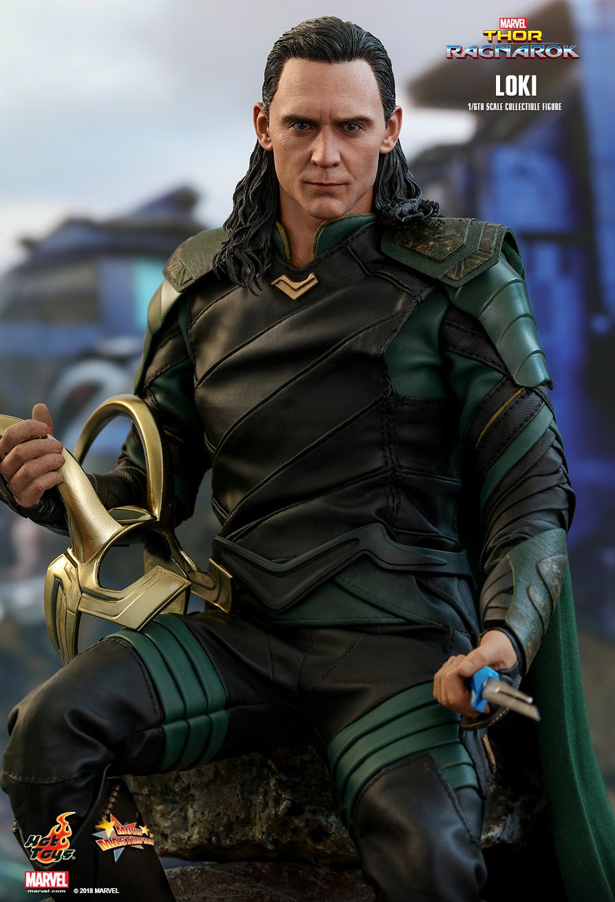 Hot Toys Thor Ragnarok Loki MMS472 Dagger /& Sheath x 2 loose 1//6th scale