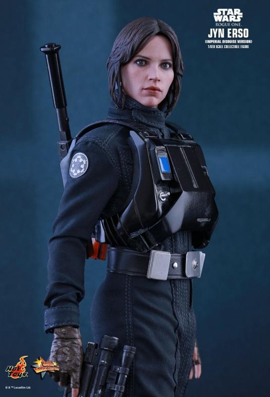 Hot Toys The erso Blaster Rifle /& Gun NEUF 1:6 Scale Star Wars